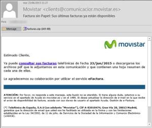 Vilatec Virus Telefonica ransomware