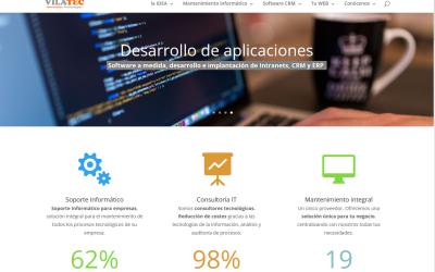 VilaTec 2.0, nueva web